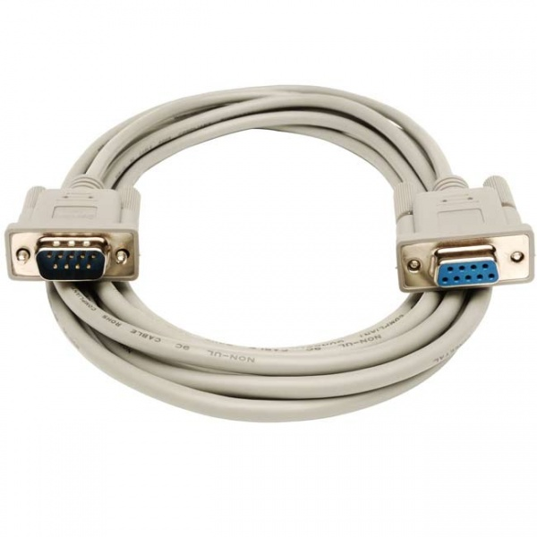 RS-232 Cable Male to Female