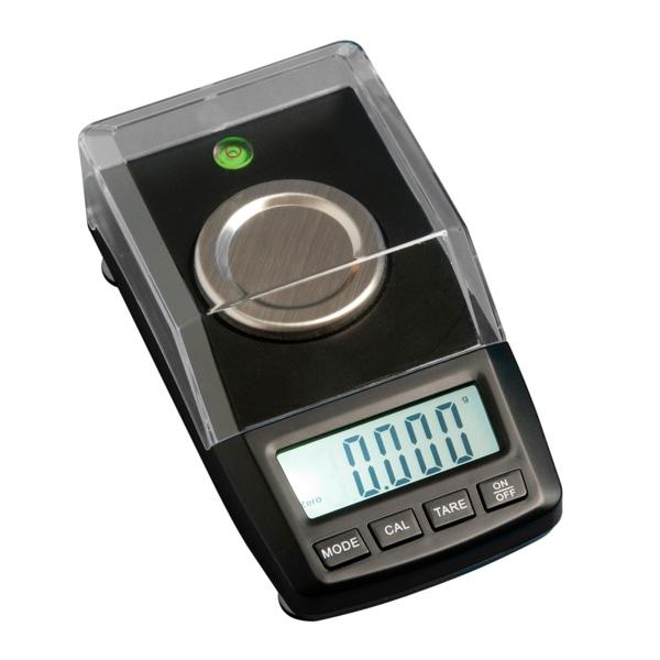 on balance carat scale 50g x 0.001g