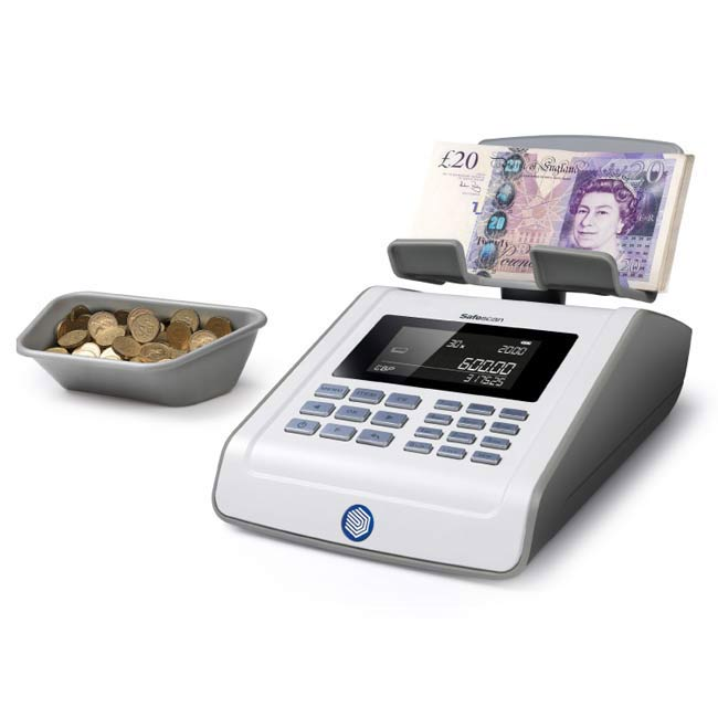 Safescan 6185 Coin & Banknote Counting Scale