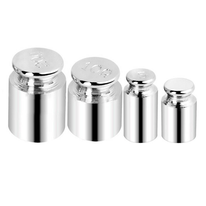 Pack of Calibration Weights 1g, 5g, 10g, 20g